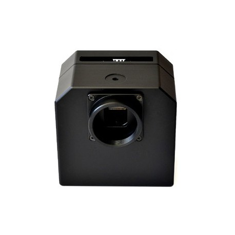 Moravian G2-0402F5 CCD camera with integrated 5 positions filter wheel