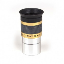 "Coronado Cemax 18 mm eyepiece with 31.8mm / 1.25"" barrel"