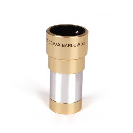 "Coronado Cemax Barlow lens 2x with 31.8 mm / 1.25"" barrel"
