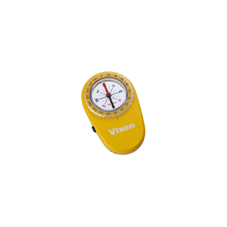 Yellow compass with LED