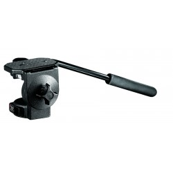 Testa fluida video con piastra larga Manfrotto 128LP